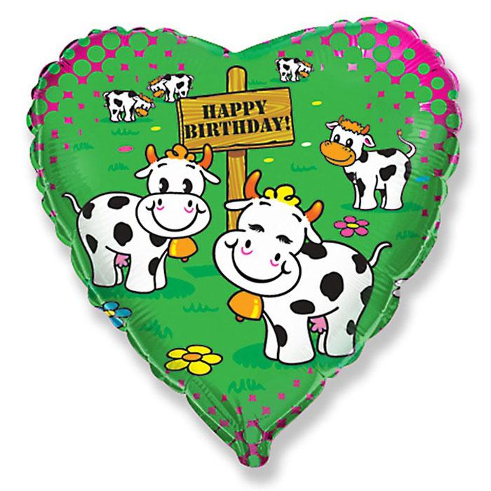 Марта поздравление, открытка с коровой